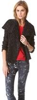 Lierane Tweed Moto Jacket