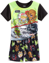 Star Wars Toddler Boys' 2-Pc. The Force Vs. The Dark Force Pajama Set