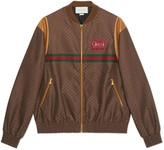 Gucci Mini GG zip-up jacket with label