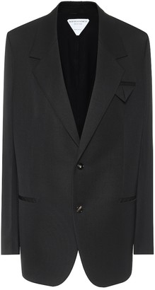 Bottega Veneta Single-breasted wool blazer