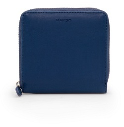 MANGO Contrast interior coin purse