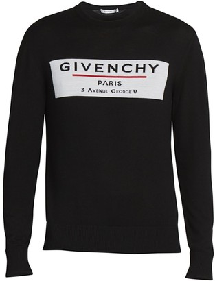 Givenchy Label Wool Sweater