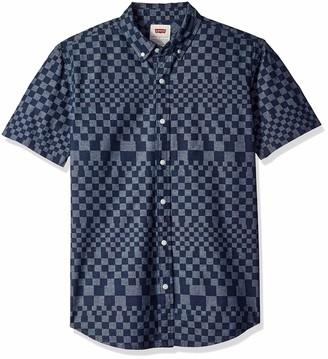 Levi's Men's Penta Short Sleeve Woven Shirt