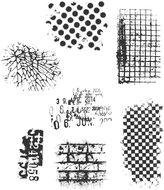 JCPenney TIM HOLTZ Tim Holtz Cling Rubber Stamp Set, Ultimate Grunge