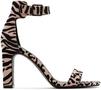 Call it SPRING Alexiss Animal-Print Block Heel Sandals