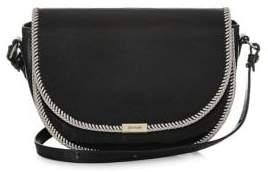Brahmin Black Mumford Ella Leather Crossbody Bag