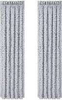 "J Queen New York Harrison Chrome 100"" x 84"" Window Drapery"