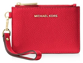 MICHAEL Michael Kors Small Leather Wristlet