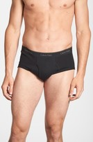 Calvin Klein Men's Big & Tall 2-Pack Cotton Briefs