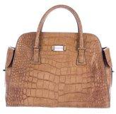Michael Kors Gia Embossed Leather Bag