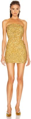 retrofete Heather Dress in Gold | FWRD