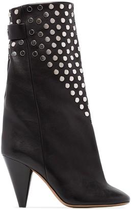 Isabel Marant Lakfee 90mm studded boots