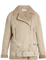 Acne Studios More She Sue shearling jacket