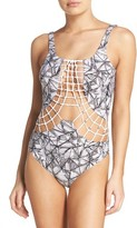 Dolce Vita Women's Macrame One-Piece Swimsuit