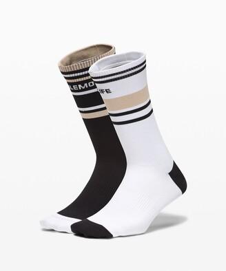Lululemon Tale To Tell Crew Sock*2 Pack