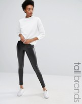Vero Moda Tall Leather Look Leggings