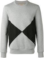 Burberry diamond print sweatshirt - men - Cotton/Polyester - XS