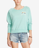 Denim & Supply Ralph Lauren Cotton Graphic Sweatshirt