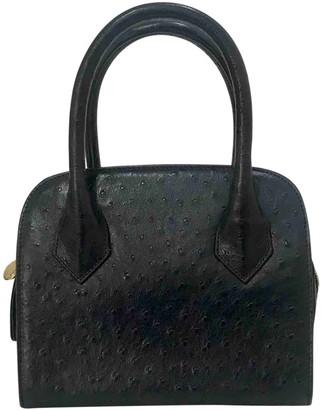 Fendi \N Blue Ostrich Handbags