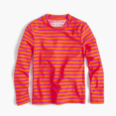 J.Crew Girls' rash guard in sailor stripes