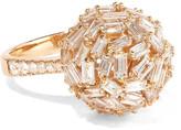 Suzanne Kalan 18-karat Rose Gold Diamond Ring - 6