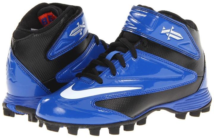 Nike Tebow Shark (Toddler/Little Kid/Big Kid) (Sport Royal/Black/White) - Footwear
