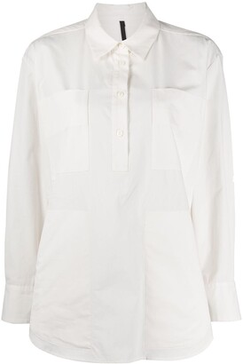 Sara Lanzi Multiple Pocket Cotton Shirt