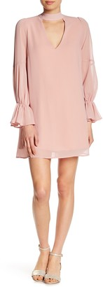 Lucca Couture Beatrice Choker Neck Dress