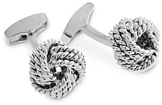 Tateossian Knot Cable Cufflinks