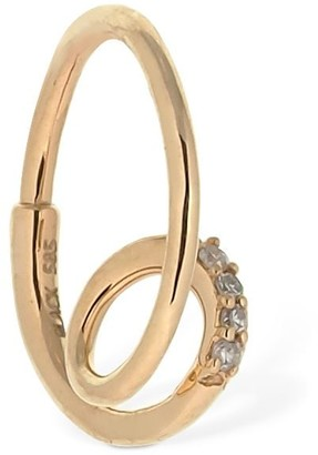 Maria Black 14kt Gold & Diamond Left Mono Earring