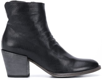 Officine Creative Giselle cone-heel ankle boots