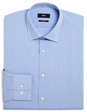 HUGO BOSS Marley Micro-Dobby Regular Fit Dress Shirt