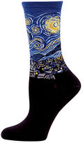 Hot Sox Starry Night Trouser Socks