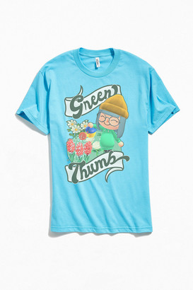 Urban Outfitters Animal Crossing Green Thumb Tee