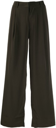 Co High Waist Flared Trousers