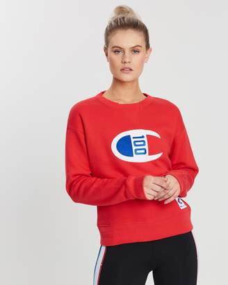 Champion 100 Year Collection Logo Crew Sweatshirt