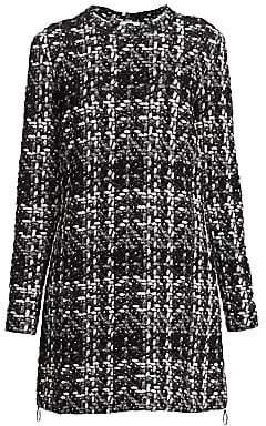 Akris Punto Women's Knit Tweed Long-Line Tunic