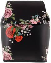 Grafea Fey Blossom Leather Rucksack Black