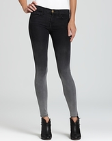 Jeans - The Ankle Skinny in Ombre Wash