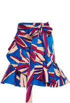 Alexis Anvivi Wrap Mini Skirt