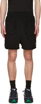 Perks And Mini Black Anarchaic Duplo Shorts