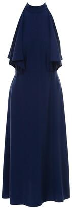 Prada Draped Sleeveless Midi Dress