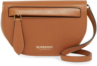 Burberry Olympia Micro Smooth Leather Crossbody Card Case