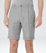 Reiss Buckingham S Check Shorts