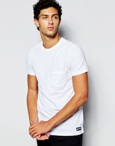 Element T-shirt With Single Pocket - White