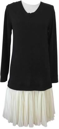Les Petites Black Wool Dress for Women
