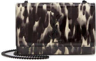 Saint Laurent Small Kate Patent Leather Chain Crossbody Bag