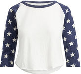 Denim & Supply Ralph Lauren Raglan Jersey Graphic Tee
