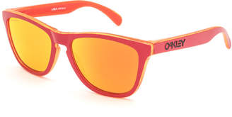 Oakley Frogskins Grips Collection Matte Red Sunglasses