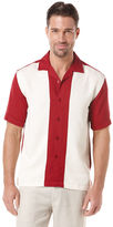 Cubavera Rayon Polyester Pieced Shirt